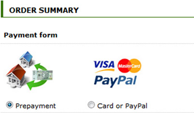 Step 3: Payment
